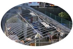 温室の屋根